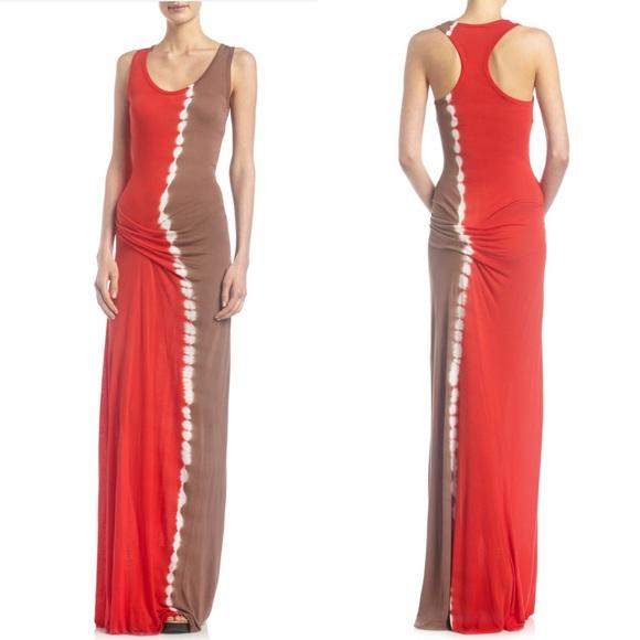 Young Fabulous & Broke Dresses & Skirts - Young Fabulous & Broke Hamptons Tie-Dye Maxi Dress
